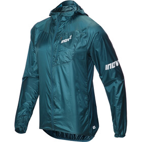 inov-8 Windshell veste Homme, blue green